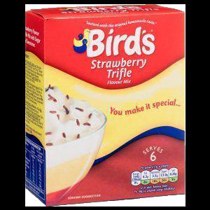 Bird's – Strawberry Trifle