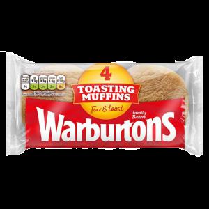 Warburtons Muffins 4 Pack