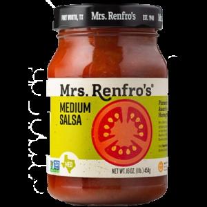 Medium Sauce 454 Gr. Mrs. Renfro's
