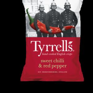 Sweet Chilli & Red Pepper 150 Gr. Tyrrell's